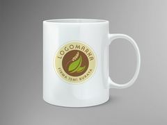 Gıda logo Mug Tasarımı