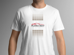 Araba Logo T-shirt Tasarımı
