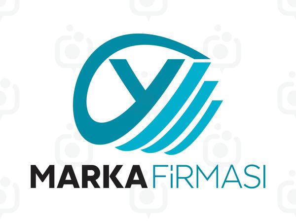 Y Harfli Marka Logosu logo