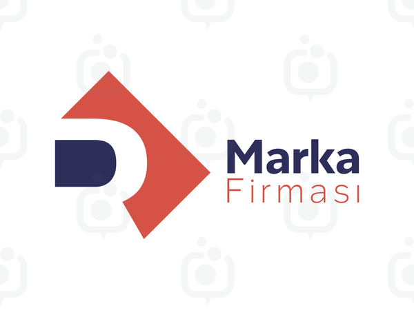 D veya R Harfli Marka logo