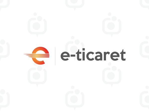 E-ticaret Logo logo