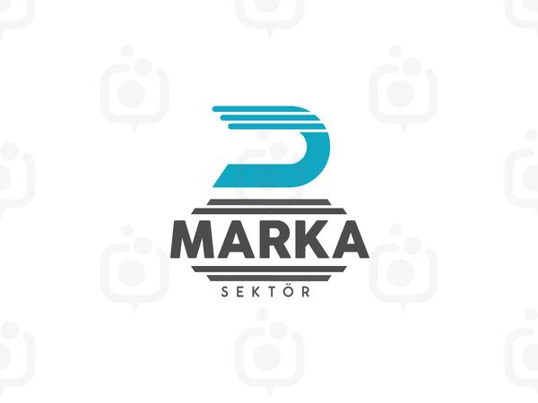 D Harfli Logo logo