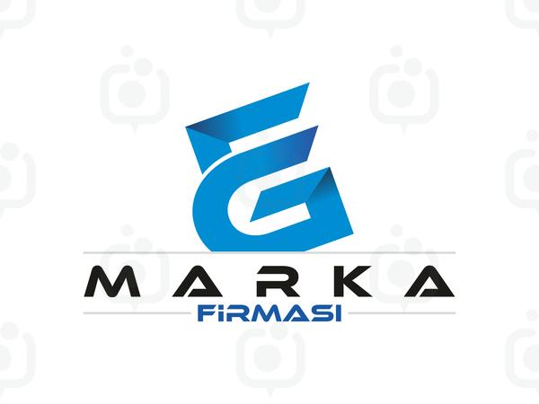 E ve G Harfli  Logo logo