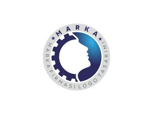 Dişli Çark, Silüet Logo logo