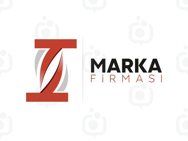 T Harfli Marka Logo logo