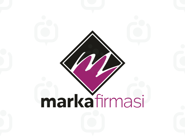 M Harfli Logo logo