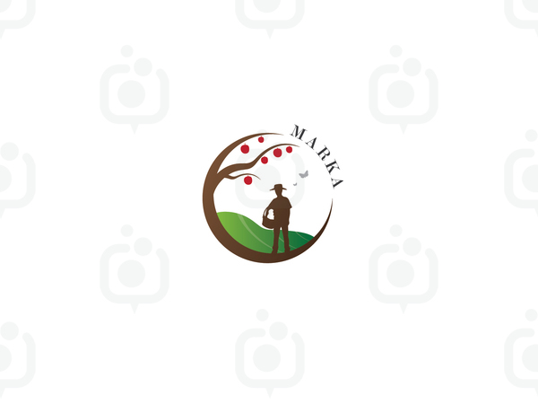 Çiftçi Logo logo