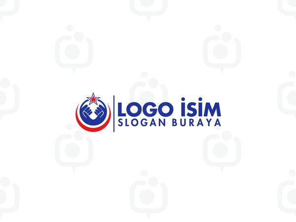 El ve ayyıldız logo logo