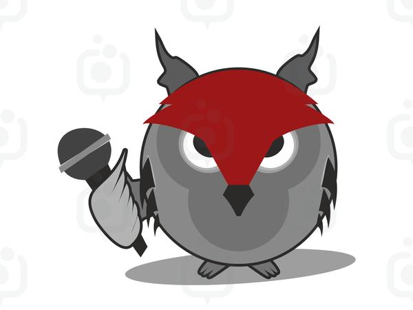 Baykuş Logo/Maskot logo