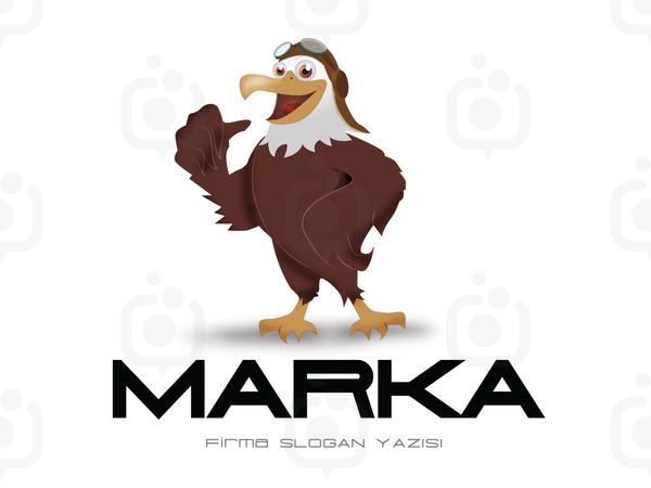 Kartal Maskot logo