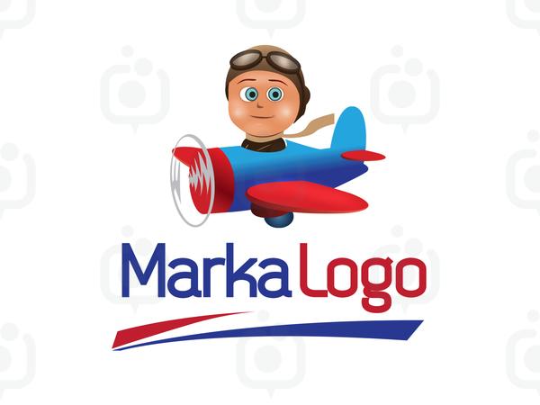 Uçak Logo logo