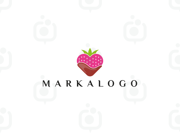Çilekli Logo logo