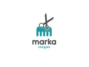 Kuaför Marka Logo logo