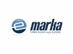 E Harfli Dairesel Logo logo