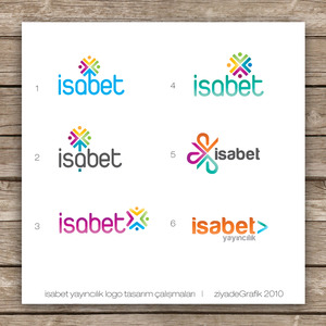 Logo works for isabet publishi by ziyade d2ya59j