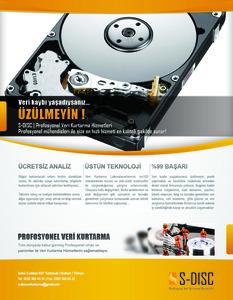 S disc flyer