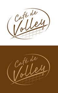 Cafe de volley logo