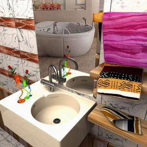 Banyo lavabo by gorselefektanimasyon
