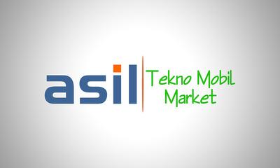 Asil tekno mobil market logo  al  mas