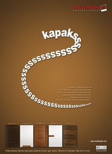 Kapaks advertisement by erustun