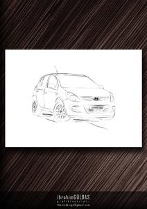 Hyundaii20cizim
