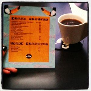 Kahvemenusustand