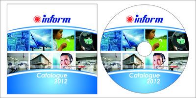 Inform cd sticker
