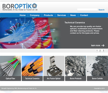 Boroptik website2