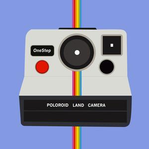 Rainbow poloroid1