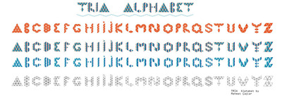 Tria alphabet