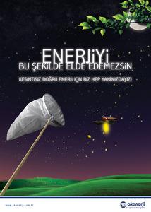 Ak enerji afis