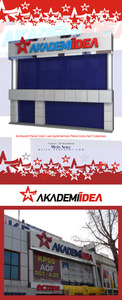 Akademiidea signboard by screwshell