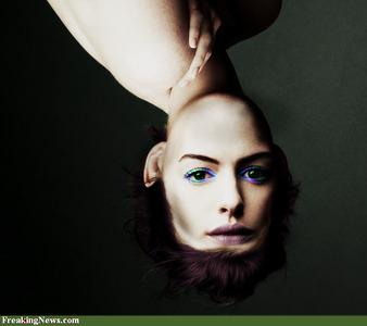 Anne hathaway upside down 56975
