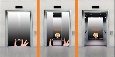 Elmasepeti asansor giydirme