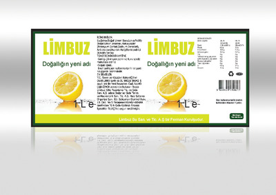 Limbuz limonata etiketi