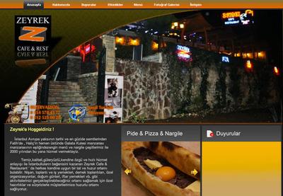 Freelance web tasarim zeyrek cafeb