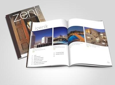 Zeni magazine open mockup  kopyala