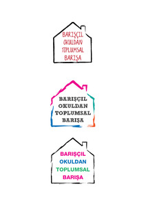 Bariscil okuldan toplumsal barisa logo 2