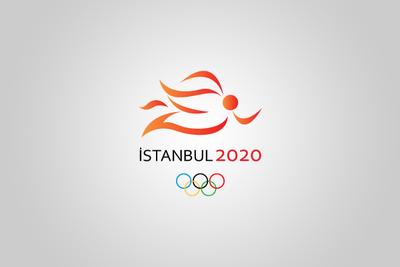 Istanbul 2020 olimpiyat logosu batu genc