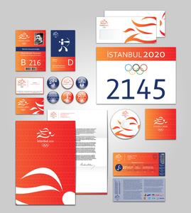 Istanbul 2020 kurumsal kimlik