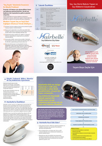 Brochure hairbelle by yavuzalemdar