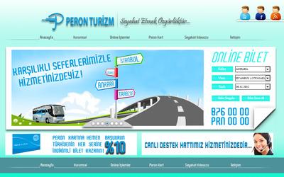 Peron turizm web