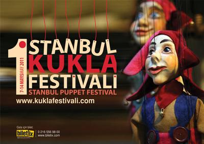 Imaginary puppet festival poster