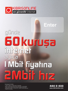 Kibris online 60kurusa adsl 3