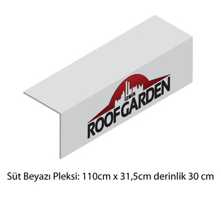 Pleksi uygulama 110cmx31.5cm