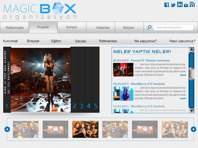 Magic box org web