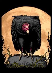 Vulture by muratsunger d5nb0k4