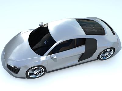 Audi r8 hdri by hanifisari