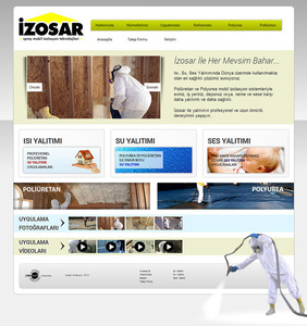 Izosar website