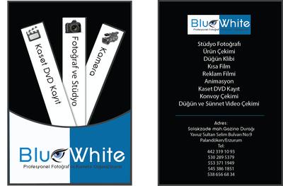 Blu wh te kart